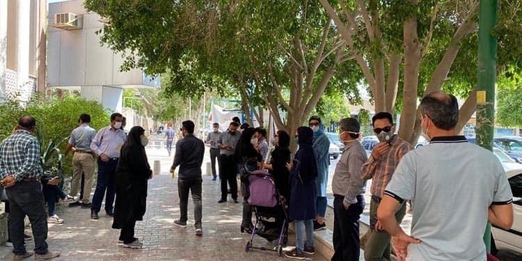 تجمعات اعتراضی مالباختگان و کارکنان شرکتی مخابرات