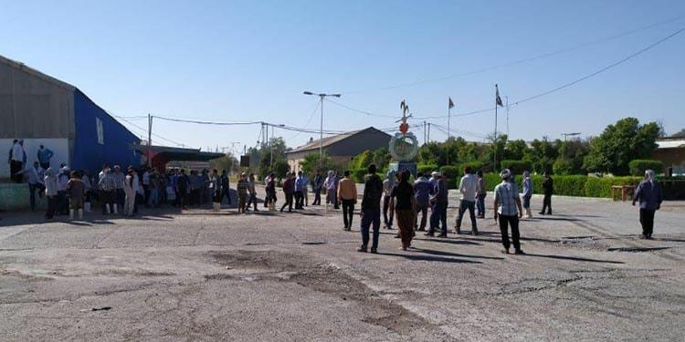 تداوم اعتصاب کارگران نیشکر هفتتپه برای چهارمین روز