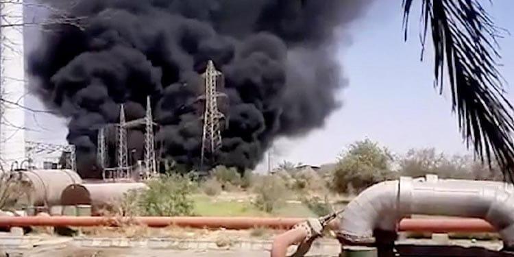 آتش سوزی در زرگان و نشست گاز در پتروشیمی کارون ماهشهر