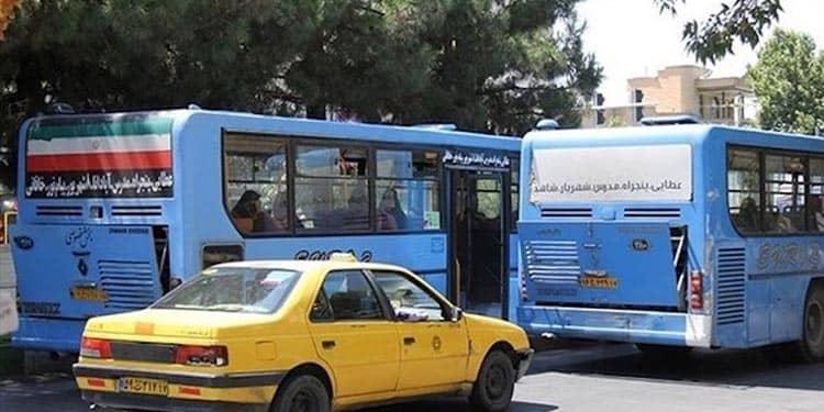 ابتلای ۶۰۰ تن از رانندگان اتوبوسرانی و تاکسیرانی به کرونا