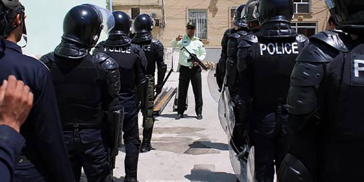 برگزاری مانور ضد شورش و اغتشاش در زندان مهاباد