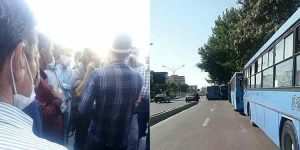 اعتصاب رانندگان ناوگان اتوبوسرانی ارومیه