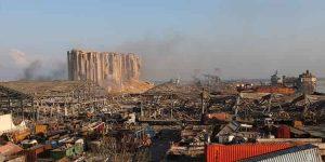 انفجار مهیب سراسر بیروت را با ۱۰۰کشته و هزاران مجروج درنوردید