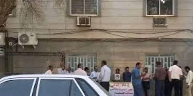 تجمع کارگران شرکت آب و فاضلاب روستایی خوزستان