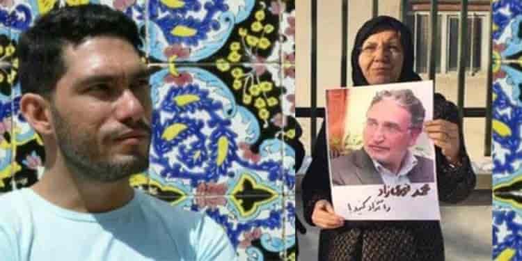 دلنوشته خانم فاطمه ملکی و خبر از به زندان رفتن پسرش