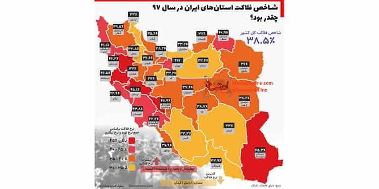 فلاکت اقتصادی حکومت ایران