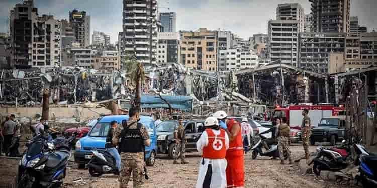 قدرت تخریب انفجار مهیب بیروت