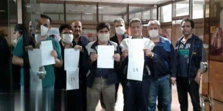نهمین روز تجمع اعتراضی کارگران هپکو در اعتراض به تعطیلی کارخانه