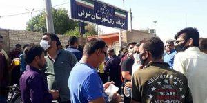 پنجاه ودومین روز اعتصاب کارگران نیشکر هفتتپه با شعار مرگ بر«اسد بیگ»