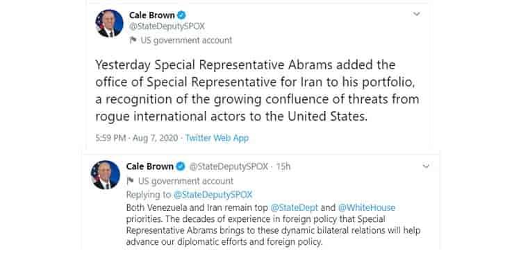 کیل براون، معاون سخنگوی وزارتخارجه آمریکا