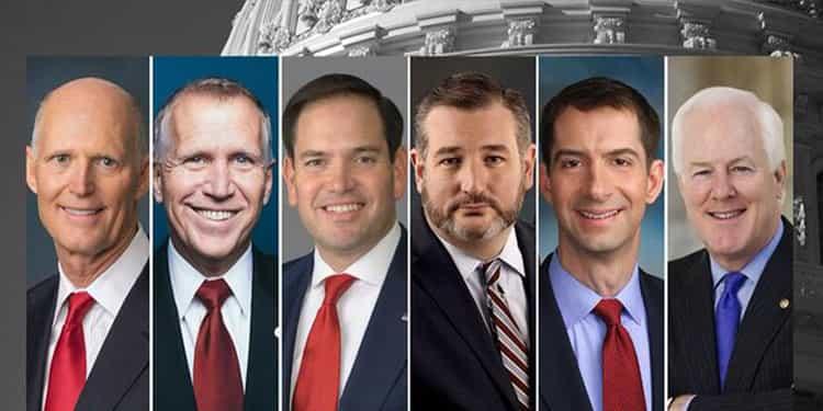 تام کاتن به همراه ۵سناتور دیگر خواهان قطع کامل شریان مالی حکومت ایران شدند