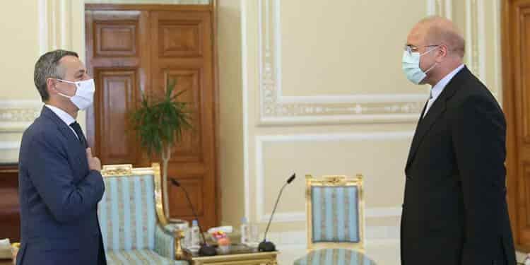 دیدار وزیرخارجه دولت سوئیس ایگناتسیو کاسیس با مقامات ایرانی