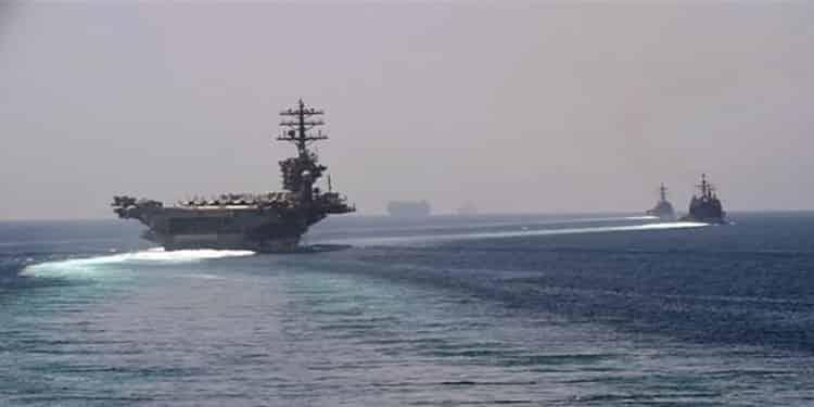ناو هواپیما بر نیمیتز وارد خلیج فارس شد
