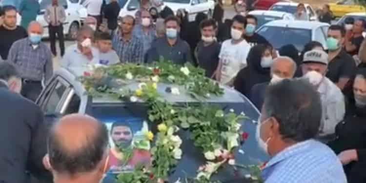 ویدئوی بزرگداشت قهرمان قیام نوید افکاری پنجشنبه ۲۷ شهریور و فراخوان به برگزاری مراسم هفت