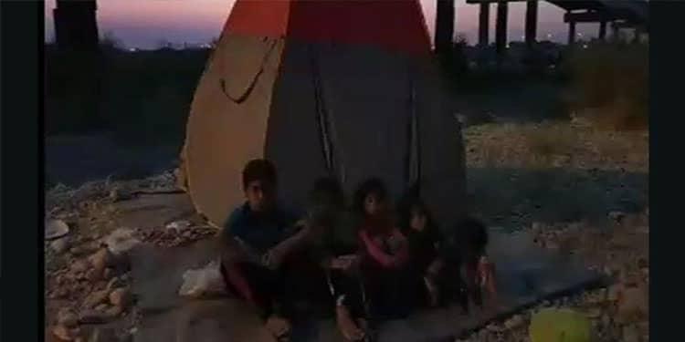 کودک و مادرشان شب ها زیر پل می خوابند؛ گزارشی دردناک از رامهرمز