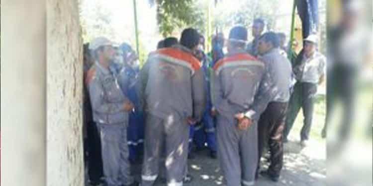 تجمع کارگران شهرداری فردیس