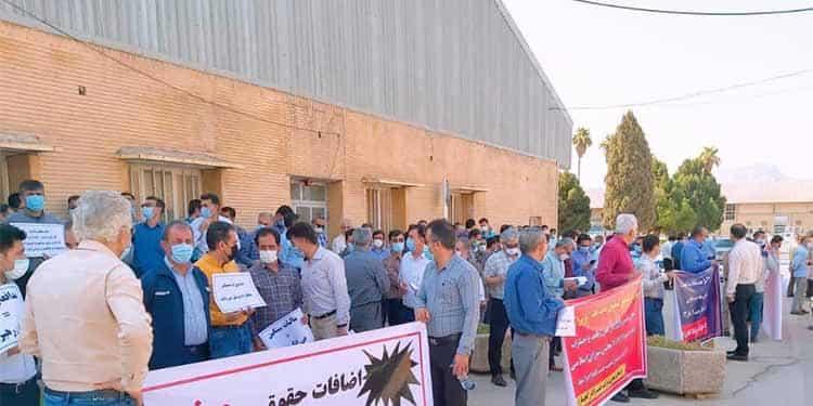 دوازدهمین روز اعتصاب کارگران نفت