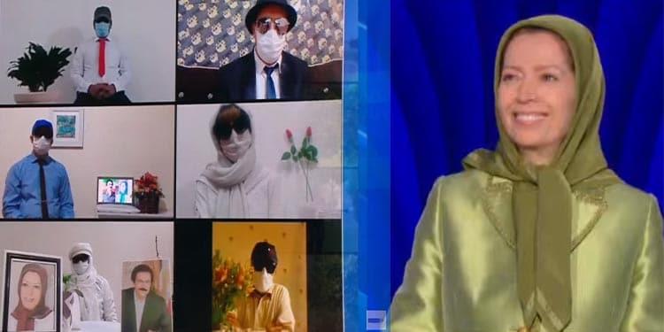 قدرت نمایی اپوزیسیون ایران با رژه هزار کانون شورشی