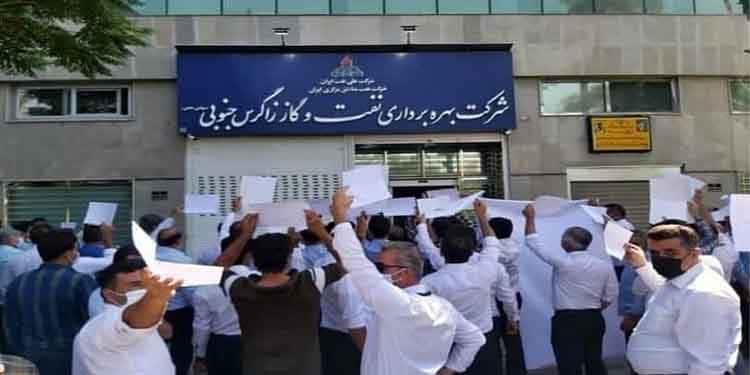 هشدار کارگران نفت به توطئه حکومت برای تشکیل شورای اسلامی کار