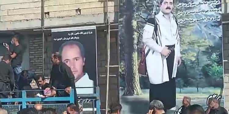 تشییع پرشکوه جنازه عباسقلی صالحی که بی گناه بعد از ۲۰ سال زندان اعدام شد