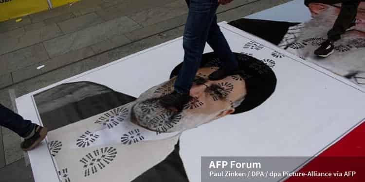 سخنرانی رئیسی جلاد ۶۷ در مجمع عمومی در میان خشم سراسری ایرانیان