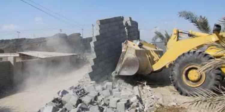 بلوچستان ؛ ویدئوی تکاندهنده از تخریب شبانه خانههای مردم بلوچ توسط شهرداری
